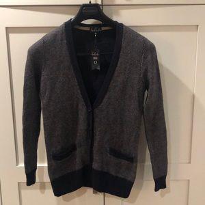 Talula Angora & Cashmere button down cardigan